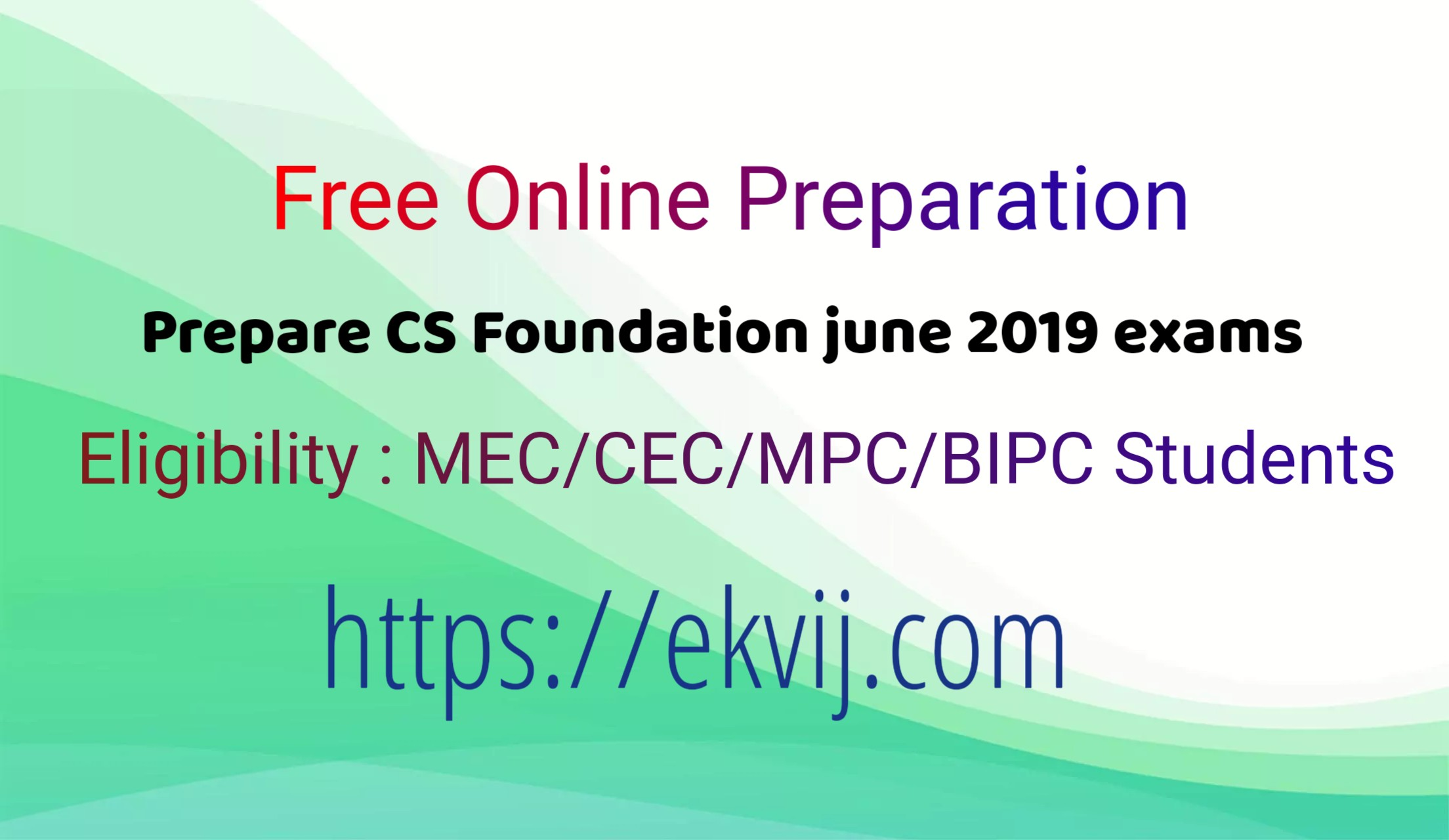 cs foundation online exam by eKVIJ